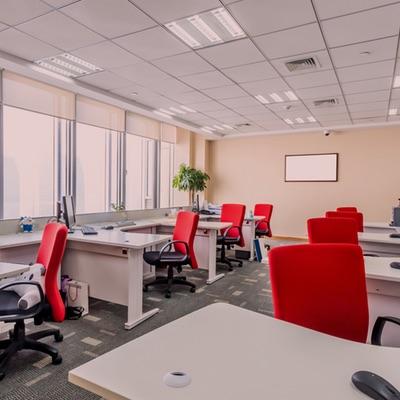 a modern office